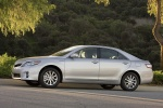 2010 Toyota Camry Hybrid in Classic Silver Metallic - Driving Side View