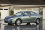 2010 Toyota Camry LE in Magnetic Gray Metallic - Static Front Left View