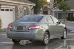 2011 Toyota Camry LE in Magnetic Gray Metallic - Static Rear Three-quarter View