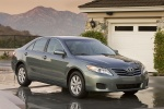 2011 Toyota Camry LE in Magnetic Gray Metallic - Static Front Three-quarter View