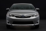 2012 Toyota Camry Hybrid XLE in Classic Silver Metallic - Static Frontal View