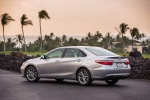2016 Toyota Camry SE in Celestial Silver Metallic - Status Rear Left Three-quarter View