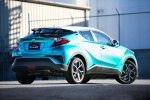 2018 Toyota C-HR in Radiant Green Mica - Static Rear Right Three-quarter View