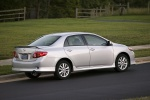 2010 Toyota Corolla S in Classic Silver Metallic - Static Rear Right View