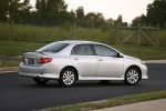 2010 Toyota Corolla S in Classic Silver Metallic - Driving Rear Right View