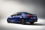 2017 Toyota Corolla XSE in Blue Crush Metallic - Static Rear Left Three-quarter View