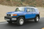 2010 Toyota FJ Cruiser - Driving Front Left Three-quarter View