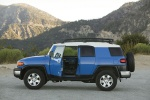 2010 Toyota FJ Cruiser With Front Door Open - Static Side View