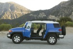 2010 Toyota FJ Cruiser With All Doors Open - Static Side View
