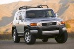 2010 Toyota FJ Cruiser frontal in Silver Fresco Metallic - Static Orientation View