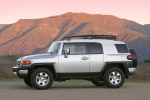 2010 Toyota FJ Cruiser side in Silver Fresco Metallic - Static Orientation View