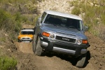 2010 Toyota FJ Cruiser in Silver Fresco Metallic - Driving Frontal View