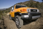 2010 Toyota FJ Cruiser in Sun Fusion - Driving Front Right View