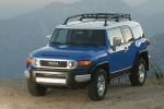 2010 Toyota FJ Cruiser - Static Front Left Three-quarter Top View