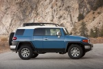 2011 Toyota FJ Cruiser in Cavalry Blue - Static Side View
