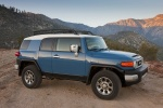 2011 Toyota FJ Cruiser in Cavalry Blue - Static Front Right Three-quarter View