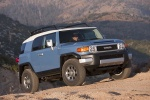 2011 Toyota FJ Cruiser in Cavalry Blue - Static Front Right View