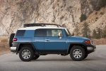 2012 Toyota FJ Cruiser in Cavalry Blue - Static Side View