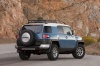 2014 Toyota FJ Cruiser from a rear right three-quarter view