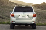 2010 Toyota Highlander in Classic Silver Metallic - Static Rear View