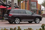 2011 Toyota Highlander Limited V6 in Sizzling Crimson Mica - Static Right Side View