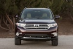 2013 Toyota Highlander Limited V6 in Sizzling Crimson Mica - Static Frontal View