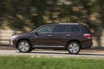 2013 Toyota Highlander Limited V6 in Sizzling Crimson Mica - Driving Side View