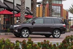 2013 Toyota Highlander Limited V6 in Sizzling Crimson Mica - Static Left Side View