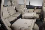 2013 Toyota Highlander Third Row Seats in Sand Beige