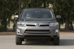 2013 Toyota Highlander Hybrid in Magnetic Gray Metallic - Static Frontal View