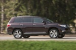2013 Toyota Highlander Limited V6 in Sizzling Crimson Mica - Driving Right Side View