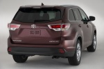 2014 Toyota Highlander Limited AWD in Ooh La La Rouge Mica - Static Rear Right View