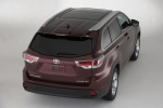 2015 Toyota Highlander Limited AWD in Ooh La La Rouge Mica - Static Rear Right Top View