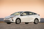 2017 Toyota Prius Two in Super White - Static Front Left Three-quarter View