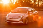 2018 Toyota Prius Two in Super White - Static Front Left View