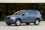 2010 Toyota RAV4 in Pacific Blue Metallic - Static Front Left Three-quarter View