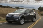 2014 Toyota RAV4 Limited in Magnetic Gray Pearl - Static Front Left Three-quarter View