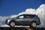 2014 Toyota RAV4 Limited in Magnetic Gray Pearl - Static Side View