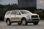 2011 Toyota Sequoia in Sandy Beach Metallic - Static Front Right Three-quarter View