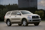 2014 Toyota Sequoia in Sandy Beach Metallic - Static Front Right Three-quarter View
