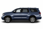 2018 Toyota Sequoia in Shoreline Blue Pearl - Static Side View