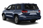 2018 Toyota Sequoia in Shoreline Blue Pearl - Static Rear Left Three-quarter View