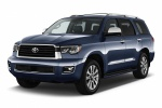 2019 Toyota Sequoia in Shoreline Blue Pearl - Static Front Left Three-quarter View