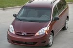 2010 Toyota Sienna LE in Salsa Red Pearl - Static Front Left Top View