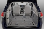 2011 Toyota Sienna LE Trunk in Light Gray