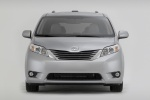 2011 Toyota Sienna XLE in Silver Sky Metallic - Static Frontal View