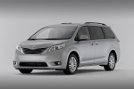 2011 Toyota Sienna XLE in Silver Sky Metallic - Static Front Left Three-quarter View