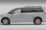 2011 Toyota Sienna XLE in Silver Sky Metallic - Static Side View