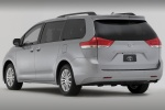 2011 Toyota Sienna XLE in Silver Sky Metallic - Static Rear Left Three-quarter View