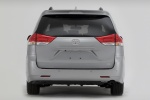 2011 Toyota Sienna XLE in Silver Sky Metallic - Static Rear View